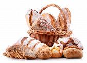 Composition With Assorted Bakery Products poster