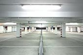picture of parking lot  - Parking Lot - JPG