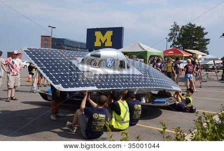 Berkeley Solar Car At American Solar Challenge