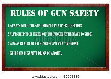 Rules Of Gun Safety