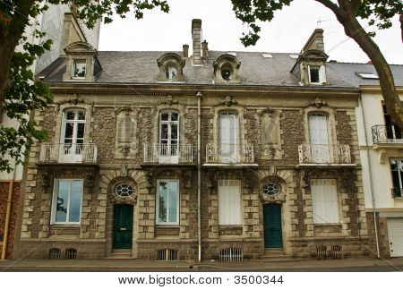 A Pair Of Classic French Town Houses