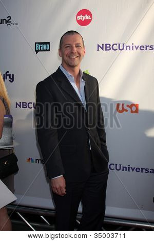 LOS ANGELES - AUG 1:  Sean Hayes arriving at the NBC TCA Summer 2011 Party at SLS Hotel on August 1, 2011 in Los Angeles, CA