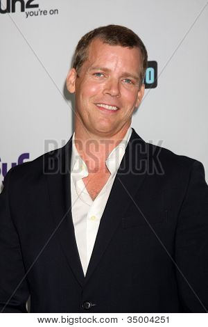 LOS ANGELES - AUG 1:  Tim Griffin arriving at the NBC TCA Summer 2011 All Star Party at SLS Hotel on August 1, 2011 in Los Angeles, CA