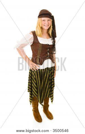 Pretty Halloween Pirate