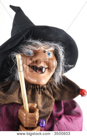 Witch Doll Close Up.