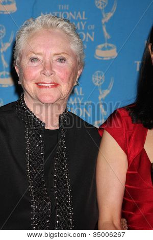 LOS ANGELES - JUN 17:  Susan Flannery in the Press Area at the 38th Annual Daytime Creative Arts & Entertainment Emmy Awards at Westin Bonaventure Hotel on June 17, 2011 in Los Angeles, CA