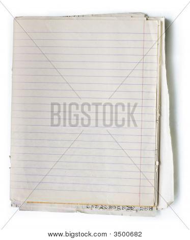Viejo cuaderno
