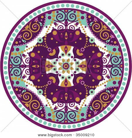 Mandala-redondo