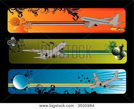 Airplane Vector Composition