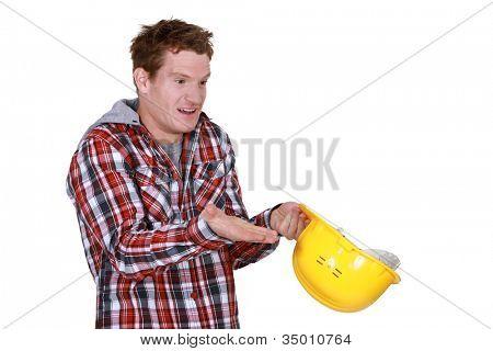 Clueless laborer