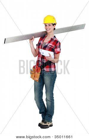 Female laborer