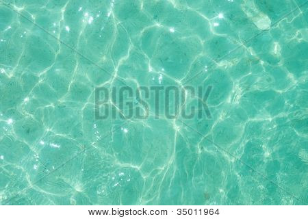 Light green water ripple background