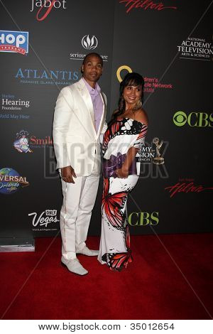 LAS VEGAS - JUN 19:  Aaron Spears arriving at the  38th Daytime Emmy Awards at Hilton Hotel & Casino on June 19, 2010 in Las Vegas, NV.