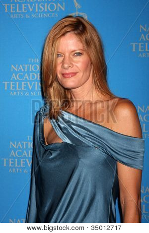 LOS ANGELES - JUN 17:  Michelle Stafford arriving at the 38th Annual Daytime Creative Arts & Entertainment Emmy Awards at Westin Bonaventure Hotel on June 17, 2011 in Los Angeles, CA