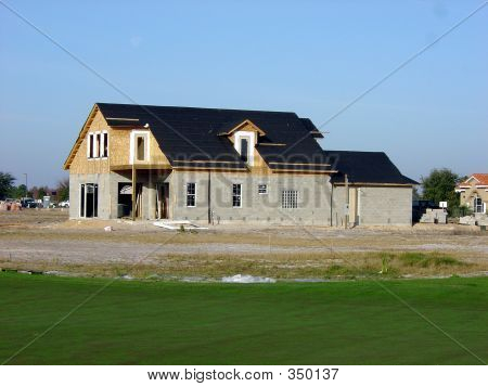 New Build On Golf Course