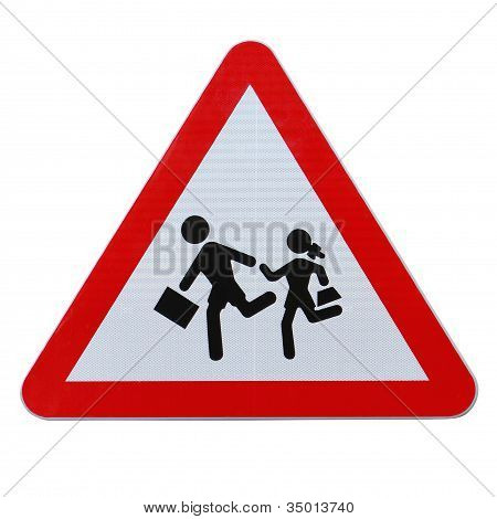 School Children Crossing