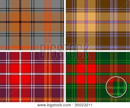 textured seamles tartan plaid