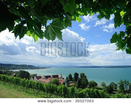 Lake Constance in Birnau
