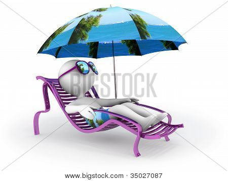 Summer Vacation: Seashore Relaxation