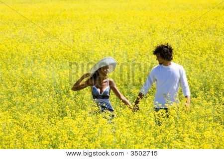 Walk In The Fields Of Gold