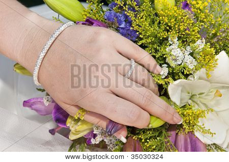 Beautiful Woman Hand