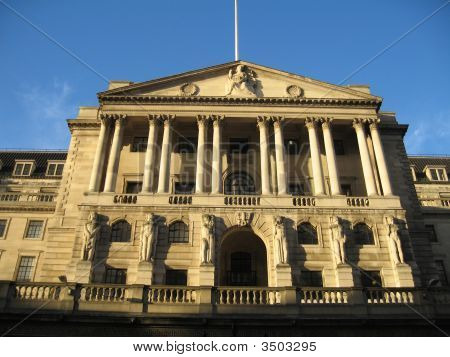 Bank Of England Building, London, Uk, Europe