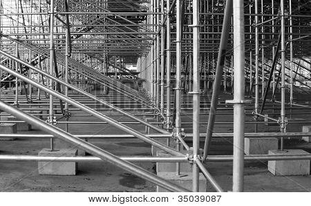 Quadro de aço estrutural