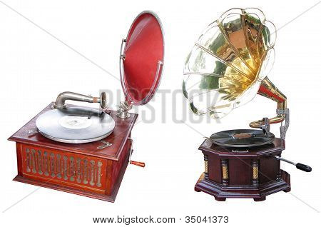 Old Turntables