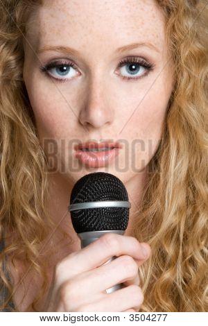 Redhead Singing Artist