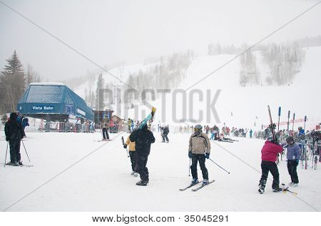Vacation Skiers