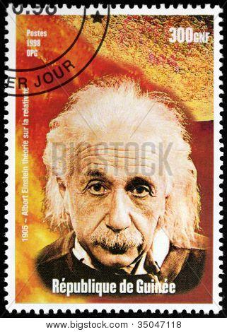 Einstein - selo da Guiné