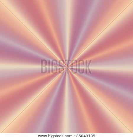 Pliegues de raso rosa y lilas