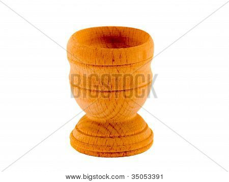 Wooden Small Pot Glass For Drink Vodka