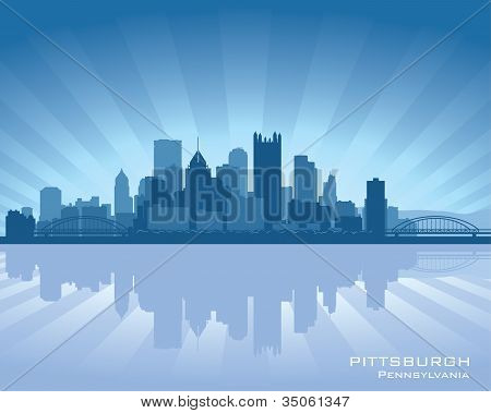 Pittsburgh, Pennsylvania Skyline