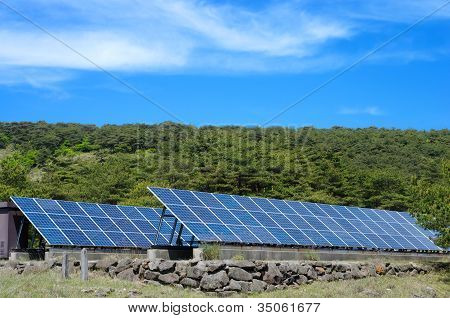 Solar power and sky