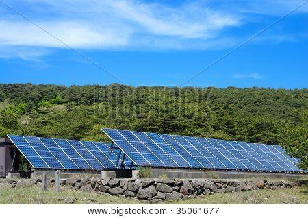 Solar power and sky