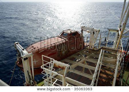 Evacuation Boat
