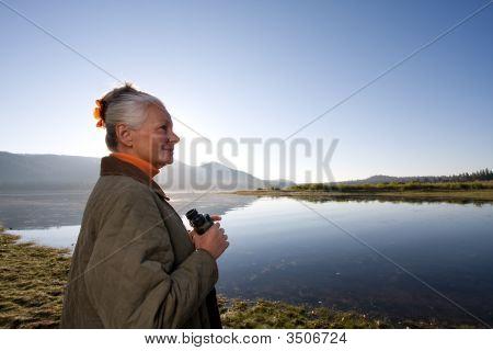 Lady At The Lake