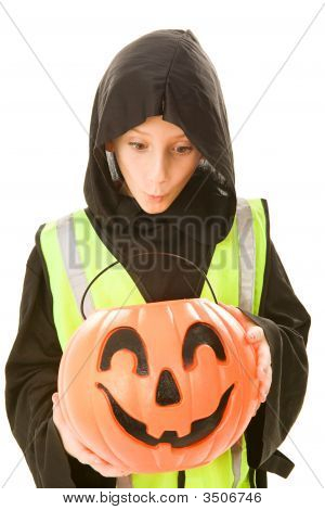 Safe Trick Or Treater Eyes Candy