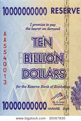 Ten Billion Dollars