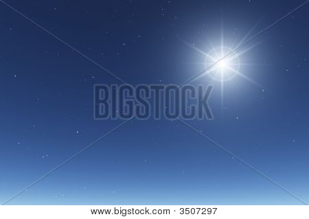 Basic Starry Night Sky