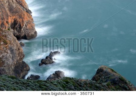 Big Sur Cliff