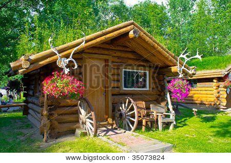 cabin at Chena Hot springs