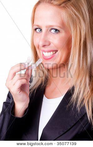 Sorriso branco