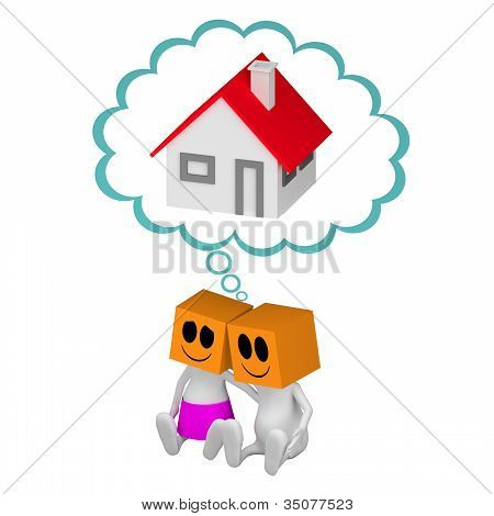 Cople Dreaming About House