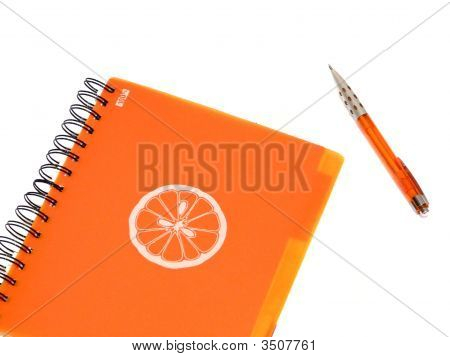 Orange Writing-Book