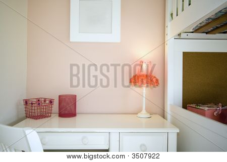 Close Up On A Children Bedroom