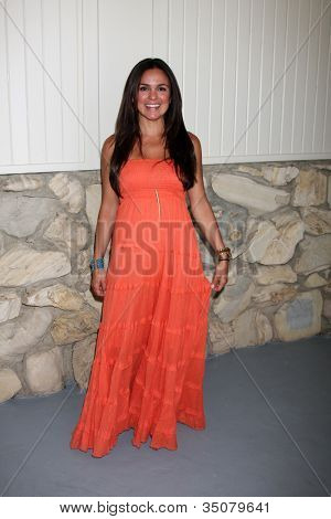 LOS ANGELES - JUL 21:  Rebeka Montoya arrives at the 2012 General Hospital Fan Club Luncheon at Sportsman's Lodge  on July 21, 2012 in Studo City, CA