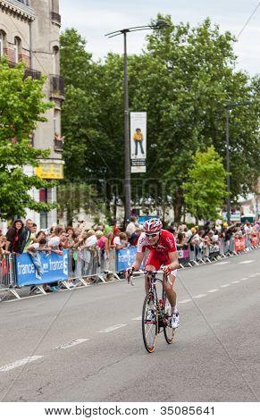 The Cyclist Jan Ghyselinck