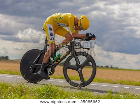 Yellow Jersey- Bradley Wiggins